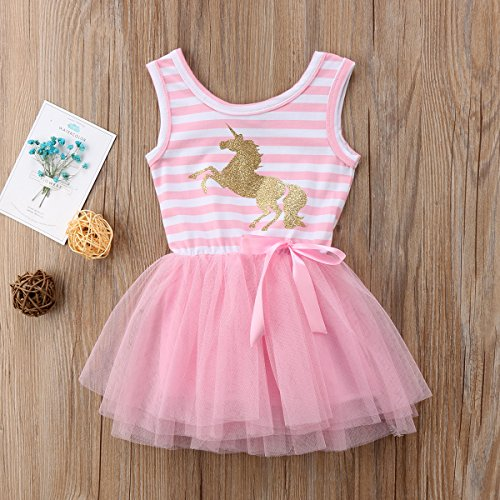 463cbf55e Special Occasion – Pink Unicorn Tutu Dress for Babies and Toddlers (4T)  Offers