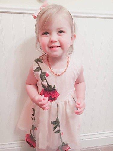0c8bd37bfcf Special Occasion – BOBORA Baby Girls Rose Dresses Printed Flower Sleeveless  Dresses