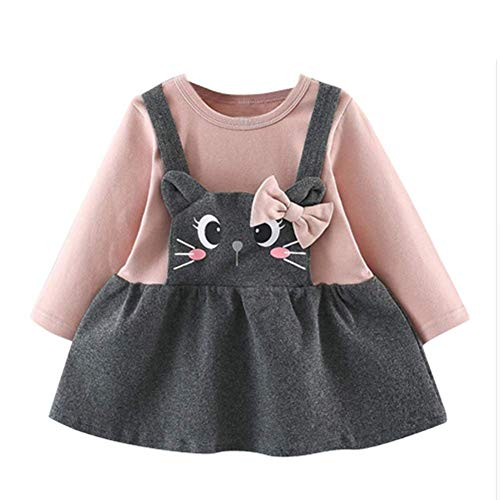 66f04ef41d Special Occasion – Digirlsor Toddler Baby Girls Long Sleeve Fall Winter  Warm Tops Blouse Cute Cartoon Pullover Princess Dress Offers