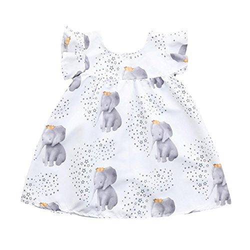 f2082aa76 Playwear – Moonker Baby Girls Dresses,Infant Toddler Girl Cute Stars ...