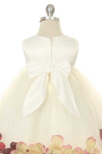 Special Occasion – Satin Bodice Flower Baby Girl Pageant